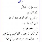 Latest Romantic Urdu Poetry 2013 for Facebook Sharing