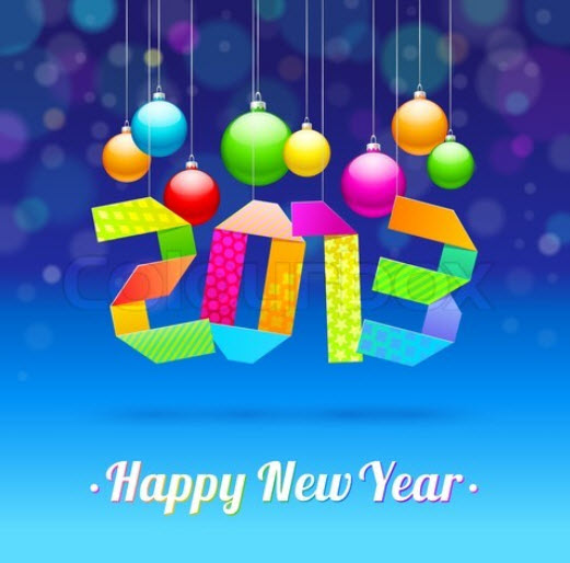 blue-color-newyear2013-wallpaper