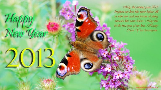 happy-new-year2013-HD-wallpaper with wishes message