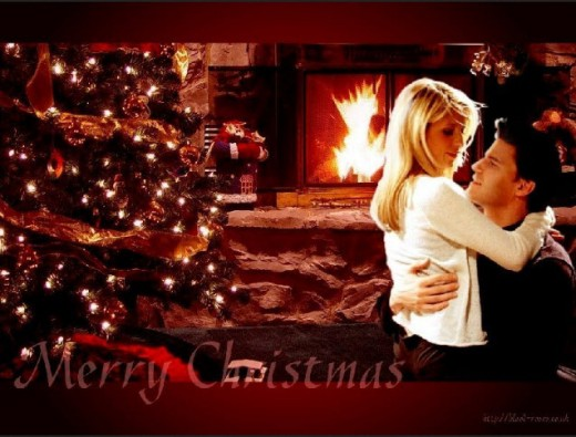 merry-christmas-romantic-couple-sexy-wallpaper
