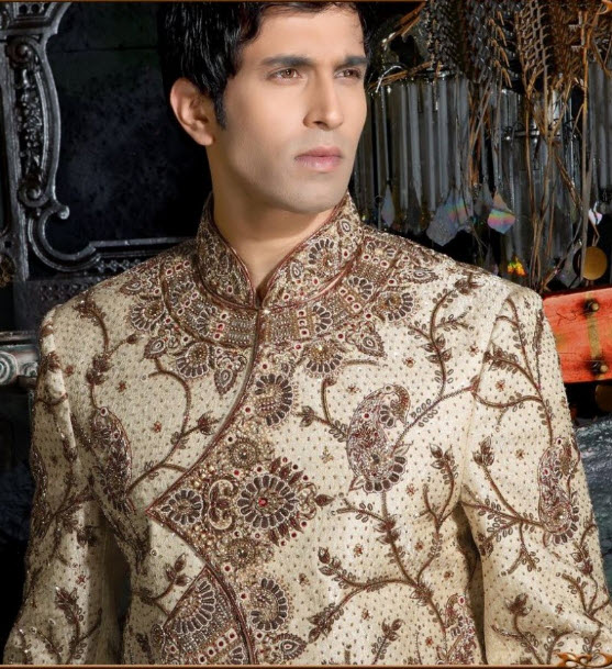 most beautiful groom sherwani design 2013 2014