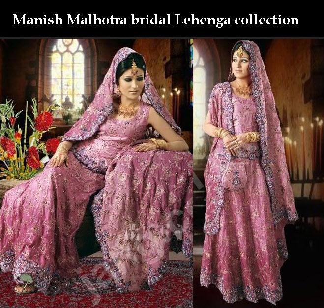 Beautiful Manish-Malhotra Lehenga Wedding Dresses Collection 2013 ...