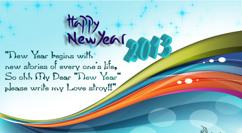 Latest happy newyear 2013 greeting cards with wish messages latest happy newyear 2013 greeting cards with wish messages m4hsunfo