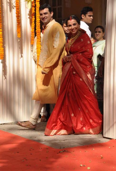 vidya balan-husband picture