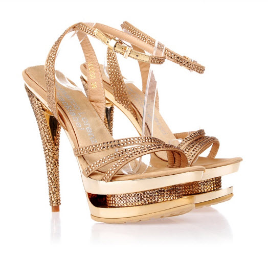 mounted at shoe heel and it s also ideal high heels shoes for bridal