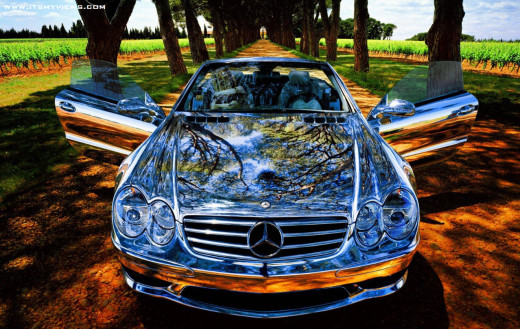 world most-stylish mercedes benz car wallpaper 2013
