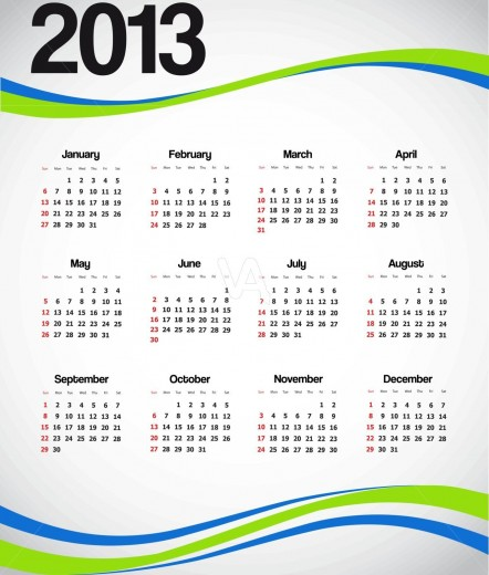2013-Calendar-wallpaper for mobile
