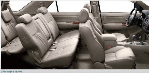2013- fortuner 2014-leather seats interior color picture