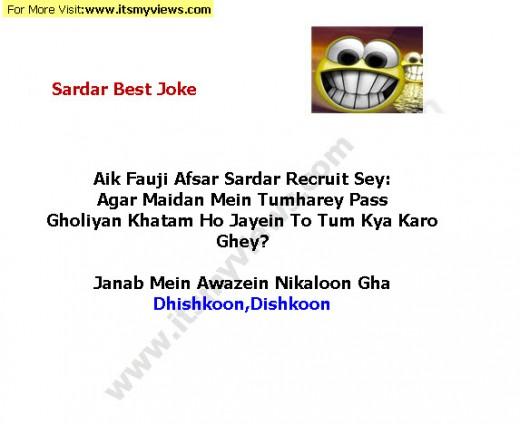 Funny sardar Army joke 2013
