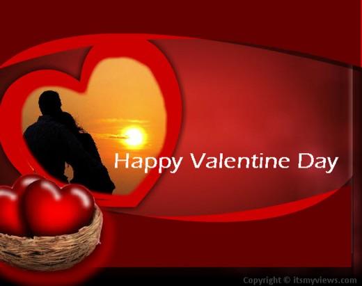 Love-Couple-valentine-day-2013 wallpaper