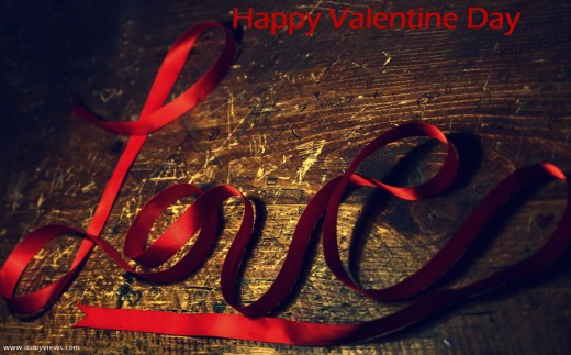 Love-romantic-ValentineDay-2013 Wallpaper for widescreen desktop PC