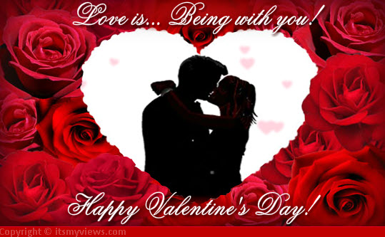 Valentine-Day-romantice-couple-kiss ecard-2013-2014
