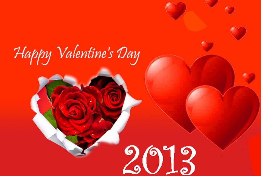 beautiful valentine-day-2013 widescreen wallpaper