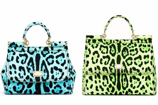 latest cheeta print leather hand bag 2013