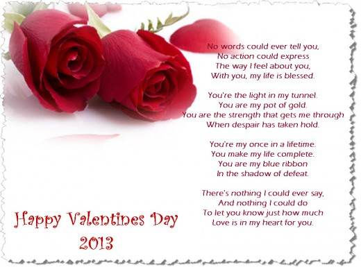 romantic-poemvalentine-day-2013 image