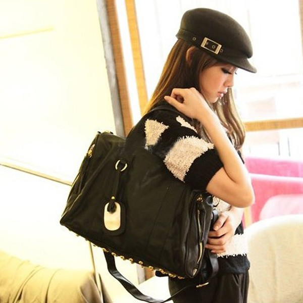 stylish black hand bag 2013