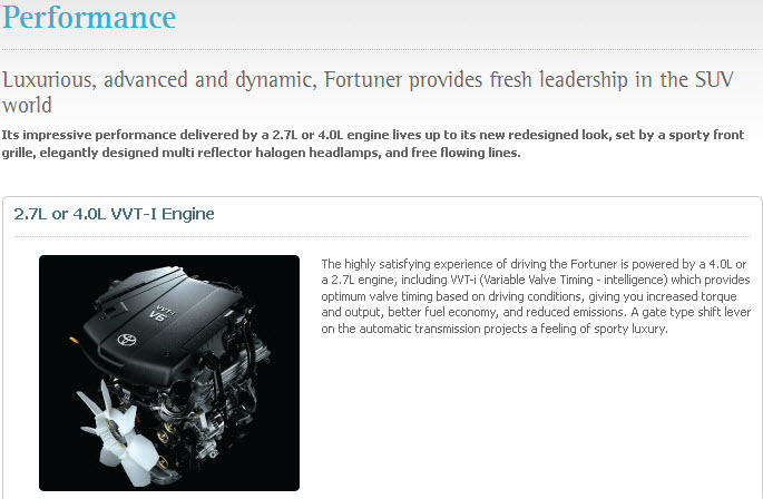- Itsmyviews Com Latest Toyota Fortuner 2013 Model Review Engine