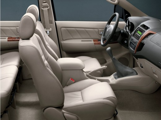toyota-fortuner-2013-2014 interior leather seats color