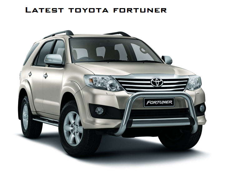 Latest Toyota Fortuner 2013 Model Review, Engine Technical