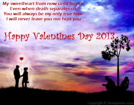 valentine-day-2013 image with quotes for facebook share with friends