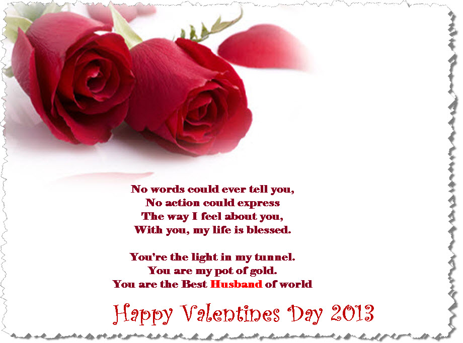 valentine day poem for husband romantic image