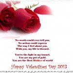 Latest Happy Valentine day Greeting Cards 2013