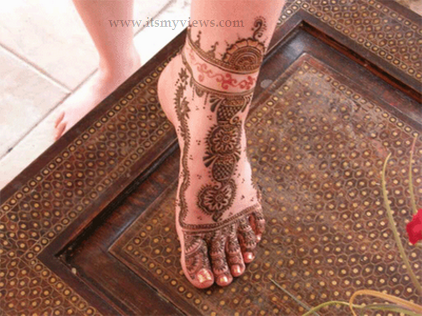 Mehndi Foot Designs : Latest foot mehndi design for bridal and eid day picture 2015 u2013 2016
