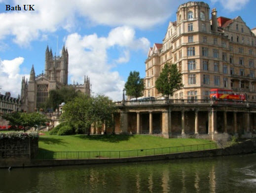 Bath-UK-romantic-place-for-honeymoon-valentine-day place