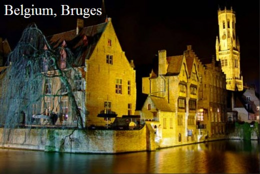 Belgium- Bruges-most-romantic-city of world for honeymoon place