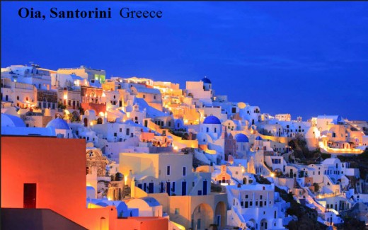 Best most beautiful and romantic place-Oia-Santorini  Greece