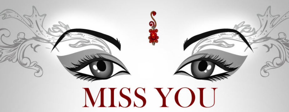 This Is A Simple Picture With Beautiful Eyes And Words Of I MISS You Miss Sad Romantic For Facebook Cover Page