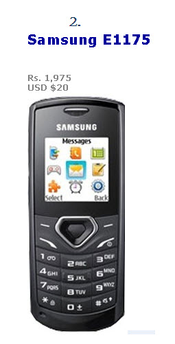 Low-Price-Mobile-Model 2013 2014-Samsung E1175