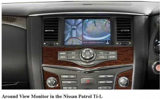 Nissan-Patrol-2013 Ti-L Navigation Picture