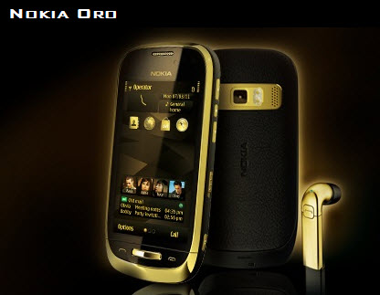 Nokia-Oro-Most-Luxury-Mobile-gold Color 2013