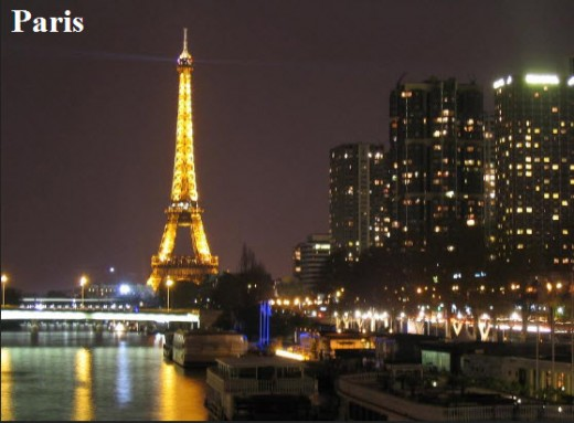 Paris-at-night-for-Honeymoon-place