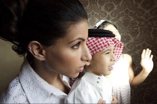 Saudi princess Deena Abdulaziz picture