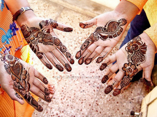 Simple-Mehndi-Designs-For-girls-2013-2014