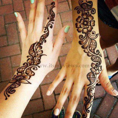 Simple-Pakistani-Mehndi-Designs-2013-2014