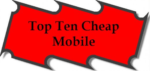 Top ten cheap mobile 2013
