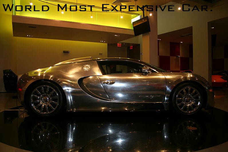most expensive car in the world 2013 with price