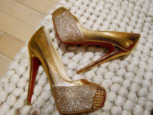 beautiful-golden-high-heel-shoes-2013