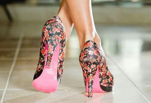 beautiful-high-heel-pink-shoes-2013