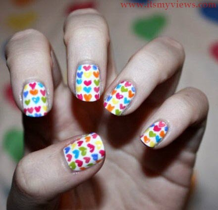 beautiful-multi-color-nail-art-design-picture-2013-2014