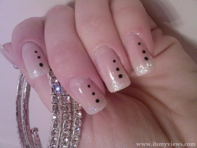 Easy Nail Art Style Make At Home 2013 Part 80