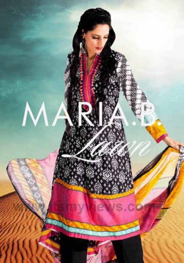 latest-Maria-B-lawn-Summer-Dresses-2013-2014-pictures