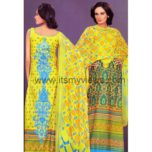 latest hsy-back-printed-lawn-design-picture-2013-2014