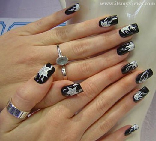 latest-trends-of-nail-art-for-women-girls-2013-2014