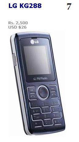latst Cheap Mobile by LG-2013 2014 KG288