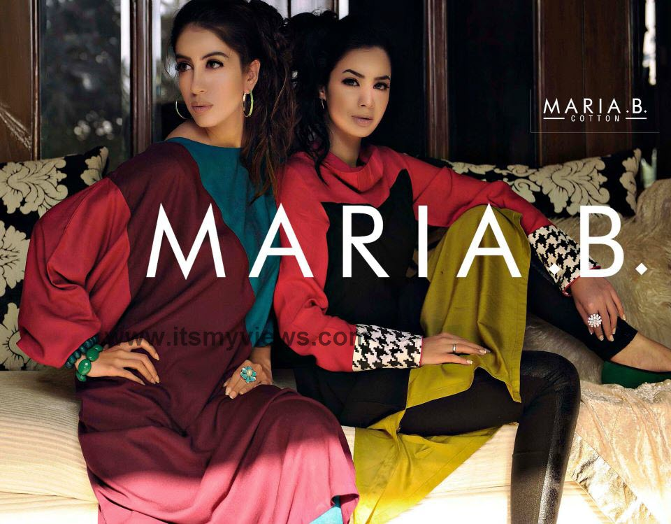 Latest Maria-B Lawn Collection 2013-2014 | Maria-B Pakistan Fashion