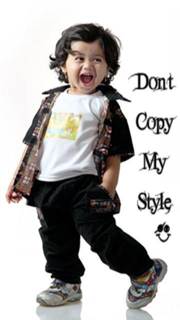 Dont copy my style facebook cover photo